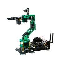 Jetson Nano 4GB B01 Robot contiene 6 HQ servos y cámara HD 2 en 1 kit compatible con Raspberry Pi Arduinos Micro:bit