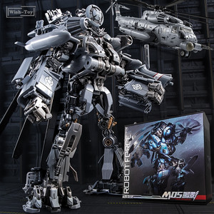 Image 1 - Фигурка робот, 30 см SS08, фигурка из сплава для скрытых теней, трансформация, WJ M05
