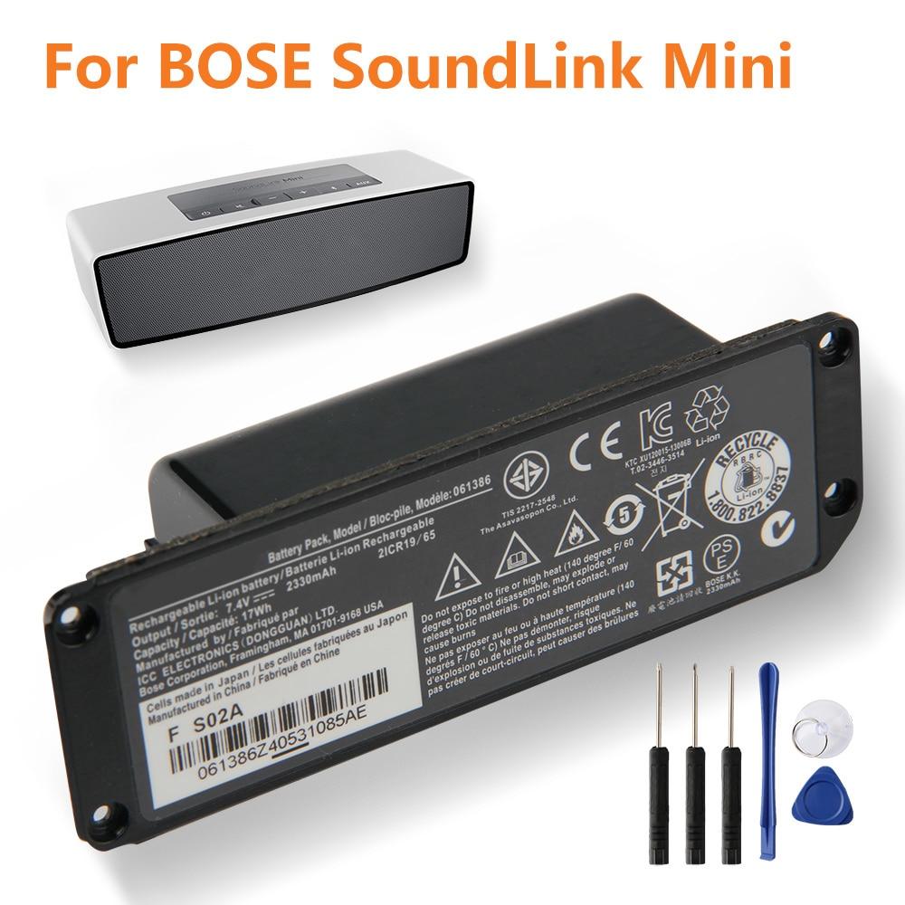 Bateria de substituição original 061384 063404 063287 061386 061385 para bose soundlink mini i bluetooth autêntica bateria