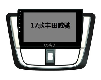 10.1 octa core 1280*720 QLED screen Android 10 Car GPS radio Navigation for Toyota Vios Yaris Sedan 2014-2017 image