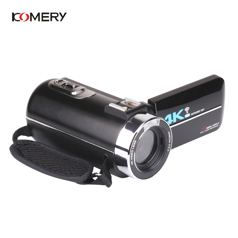 KOMERY Nieuwkomers 4K 48MP Video Camera 3.0 In HD Touch Screen/Nachtzicht/Wifi Externe Microfoon /Flash/Hdmi uitgang/Infrarood - 5