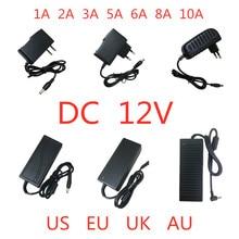 Ac 100v 240v dc 12 v 1A 2A 3A 5A 6A 8A 10A電源アダプタ12 12vボルトの照明トランスled用ストリップライトcctv