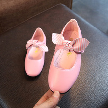 Fashion Bow Baby Girl Shoes Toddler Princess School