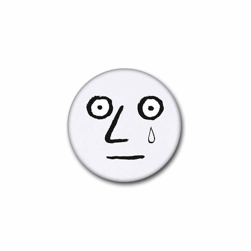 Nengdou T38 w koreańskim stylu uliczna moda odznaka okrągłe ikony na ubrania słodkie śmieszne pin cartoon broszka na kurtce DIY rzemiosło plecak ikona