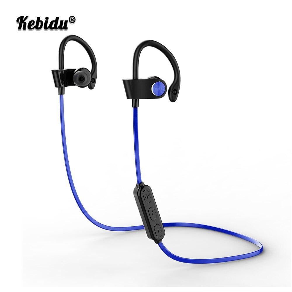 Kebidu Wireless Bluetooth Earphone 4.2 Headphone Music Earpiece Sport Running Stereo Earbuds With Mic For iPhone Samsung Xiaomi