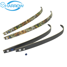 JUNXINGF166 30-55lbs ILF Recurve Bow Limbs H21 64 Limb For Archery Training Shooting Practice Hunting Camping