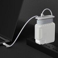 3 em 1 para apple notebook cabo de alimentação winder para macbook pro computador carregador de energia caso protetor|Bolsas e estojos p/ laptop|   -