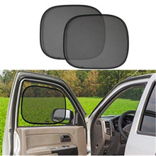 2 pcs Car Window Shade 44x36cm Cling Sunshade for Car Windows - Sun, Glare and UV Rays Protection for Child Baby Side Window