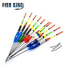 FISH KING 10PCS/lot Fishing Float Set Flutuador Mix Size Color For Carp Fishing Buoy Boia Floats Pesca Tackle