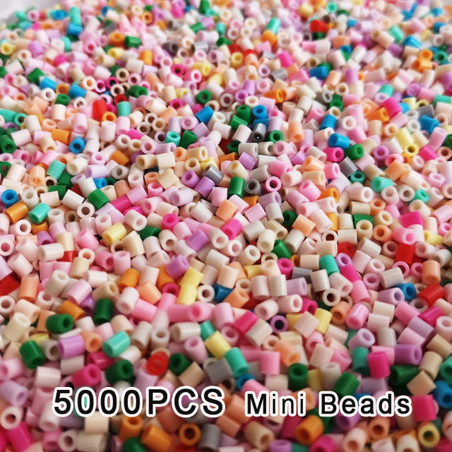 Yantjouet 2.6mm Mini Beads 5000pcs OPP Bag Packing Iron Beads for kid Hama Beads diy Puzzles Beads Handmade gift toy