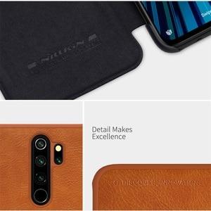Image 5 - Für Xiaomi Redmi Note 8 Pro Flip Fall Nillkin Qin Vintage Leder Flip Abdeckung Karte Tasche Brieftasche Fall Für Redmi note8 Telefon Taschen