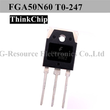 (10 pcs) FGA50N60 TO 247 FGA50N60LS 50N60 T0 3P Large Current MOSFET N channel
