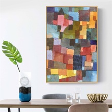 Paul Klee Classic Abstract Style Modern Decoration Art Canvas Print Painting Poster Wall Pictures for Living Room Home Decor