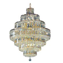 Phube Lighting French Empire Gold Crystal Chandelier Chrome Chandeliers Lighting Modern Chandeliers Light +Free shipping !