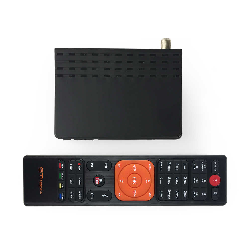 GTmedia V7S HD Ricevitore Satellitare con USB WIFI 1080P Full HD DVB-S2 Alimentato da Freesat TV BOX Decoder Magazzino in Brasile
