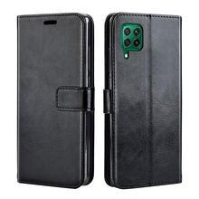 Роскошный кожаный чехол-книжка для Samsung A12, чехол-накладка для Samsung Galaxy A12 A 12, чехол