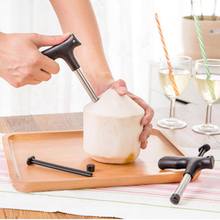 1Set Kitchen Accessories Stainless Steel Open Coconut Tool Utility Gadget Cutter Hole Artifact