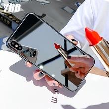 YBD twardy PC lustro etui na telefony dla iPhone 7 X XR 8 XS 11 Pro plus etui ochronne dla iPhone 6s XS Max SE 2020 okładka Funda Coque tanie tanio Fitted Case Acrylic Mirror phone case Apple iphone ów Iphone 6 plus Iphone 6 s plus IPhone 7 Plus IPHONE 8 PLUS IPHONE X