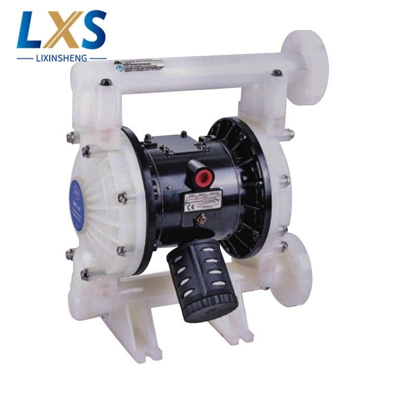 BML-25P Double Way Pneumatic Diaphragm Pump 159L/Min PTFE Liquid Circulation Pump