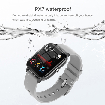 LIGE New P8 1.4 inch Full Touch Women Digital Watches Waterproof Sports For xiaomi iPhone Multifunctional  Electronic Watch Men 4
