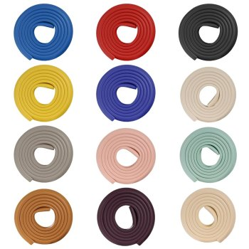 2M Protector Foam for Furniture Rubber Baby Protection Cushion Guard Strip Softener Bumper 5