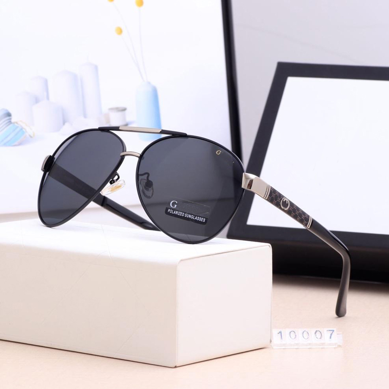 Sunglasses Men Brand Designer Sunglasses Men Polarized Fashion Classic Pilot Sun Glasses Fishing Driving Goggles  UV400 Luxury