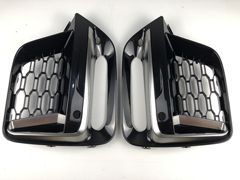 2018 2019 2020 Frame Trim Protector Exterior CoverFront Fog Light grille For BMW New X3 G01 X4 G02 cerium Gery Lamp Cover 1