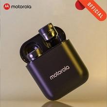 Motorola VB110 Drahtlose Bluetooth 5,0 Kopfhörer Touch Control Mic Ohrhörer Dynamischen stimme assistent Stero Sound Qualität für iphone