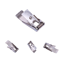 Spring  steel LED panel light with flat mounting spring clips