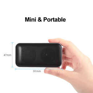 Image 2 - AEC BT209 BT 4.2 Speakers Portable Wireless Bluetooth Speaker Mini Style Pocket sized Music Sound Box with Mic Support TF Card