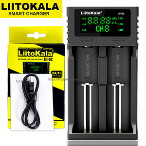 Image 5 - LiitoKala Lii 500S Lii PD4 Lii PD2 3.7V/4.2V 1.2V battery charger 18650 26650 21700 batteries Test the capacity Touch control