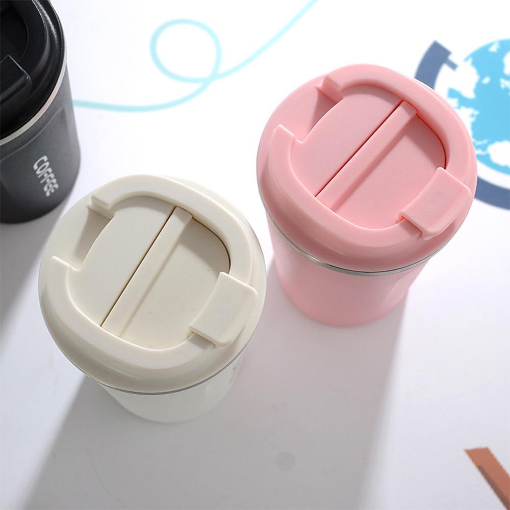 SOLEDI, 304, нержавеющая сталь, кофейная кружка с крышкой, с изоляцией, для молока, воды, чая, чашка, герметичная, для путешествий, термос, колба, 380 мл, 510 мл