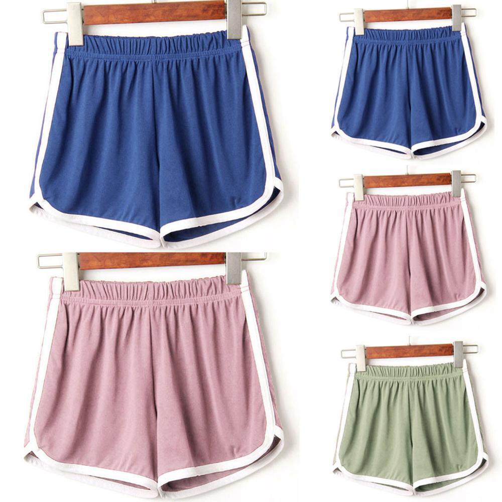 Sport Shorts Women 2020 New Summer Casual Beach Short Pants  Gray,Wine,Pink,Black,Green