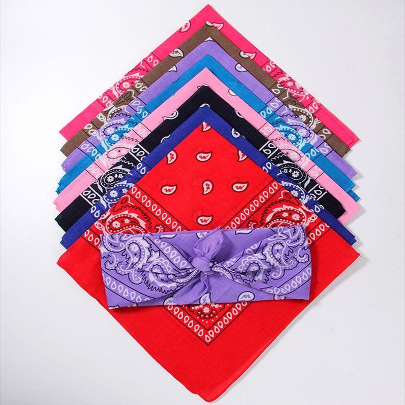 Unisex bandane na prostem s tiskanim kvadratnim šalom maska za - Kampiranje in pohodništvo - Fotografija 4