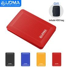 UDMA 2.5 ''zewnętrzny dysk twardy USB3.0 HDD 120G 160G 320G 500G 1TB 2TB HDD przechowywanie na PC, Mac,TV to torba HDD prezent