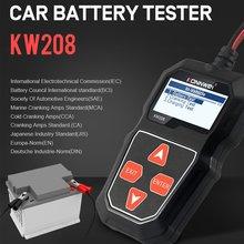 Kw208 Батарея Тесты er Автомобильный цифровой 12v 100 2000cca
