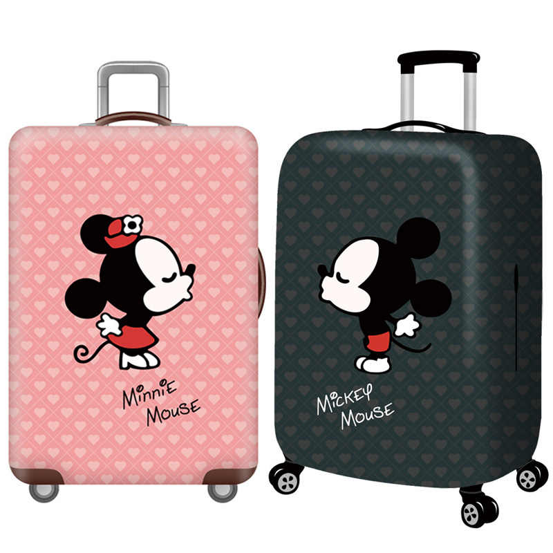 Cartoon Luggage Cover,Suitcase Elastic Case Covers,Travel Accessories For 18-32 Inch Trolley,Trip Trunk Baggage Protective Cover