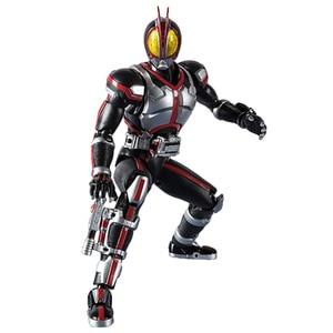 Image 3 - Maskeli Rider 555 20th yıldönümü Kamen Rider Faiz eylem şekilli kalıp oyuncaklar PVC 15CM koleksiyon hediyeler masaüstü dekorasyon