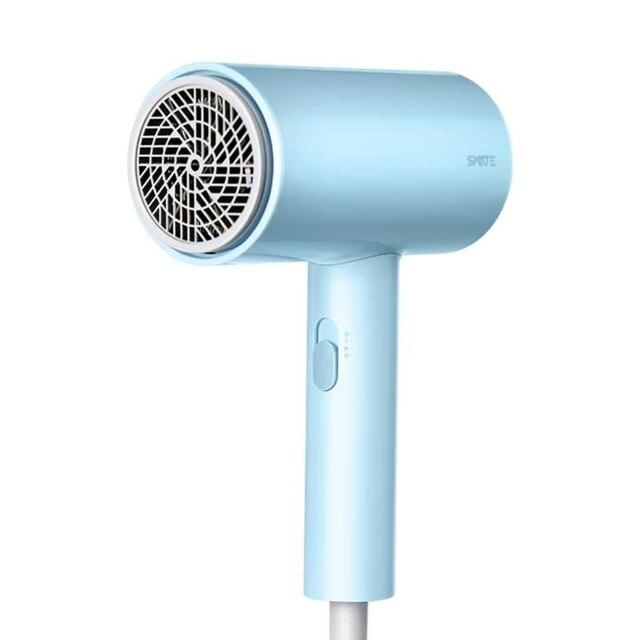Smate suszarka do włosów 1800W suszarka do włosów 3 biegi jony ujemne dwuwarstwowy dopływ powietrza netto przegrzanie szybkie suszenie włosów narzędzia 220V