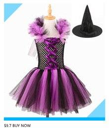 H9a53f44100d64b4da6503ebe6238194aw Kids Maleficent Evil Queen Girls Halloween Fancy Tutu Dress Costume Children Christening Dress Up Black Gown Villain Clothes