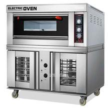 Коммерческая электрическая печь для выпечки и брожения пиццы