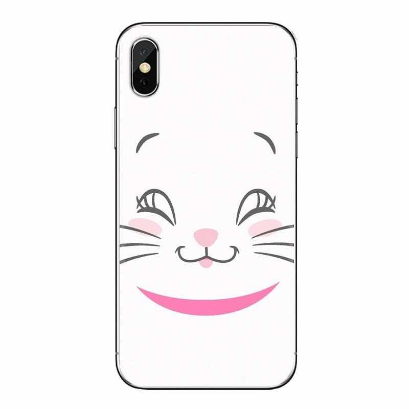 """""""Arystokratów"""" kot kitty przezroczysty Soft Shell pokrowce do Xiaomi Redmi 4A S2 uwaga 3 3S 4 4X5 plus 6 7 6A Pro Pocophone F1"""