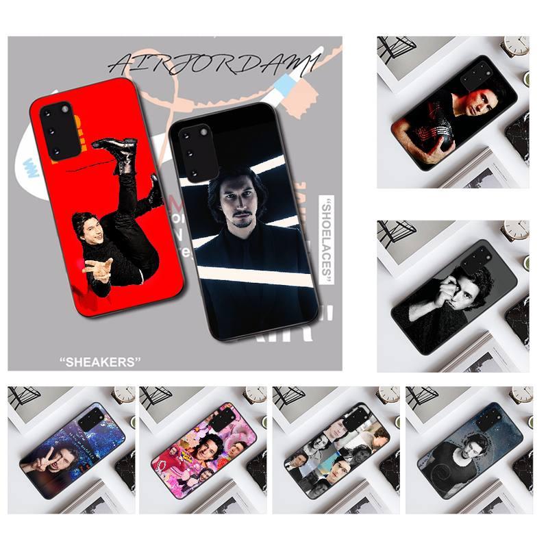 NBDRUICAI Adam Driver Soft Silicone Black Phone Case for Samsung S20 plus Ultra S6 S7 edge S8 S9 plus S10 5G