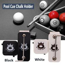 Magnetic Snooker Billiards Pool Table Plastic Cue Chalk Holder W/ With Belt Clip Snooker Chalk Cases Strong Power Magnet