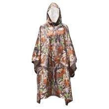 TOMSHOO 3 w 1 wielofunkcyjny lekki płaszcz przeciwdeszczowy z kapturem Outdoor Camping mata namiotowa piesze wycieczki osłona przeciwdeszczowa Poncho płaszcz przeciwdeszczowy