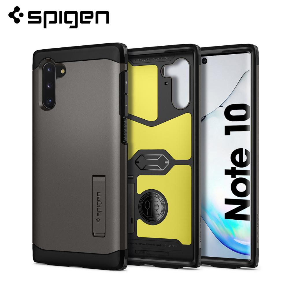 Spigen Tough Armor Case for Samsung Galaxy Note 10 MIL-STD-810 Drop Resistance Anti-Slip Heavy-Duty Cases