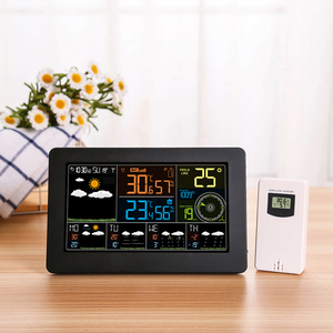 Digital LCD Alarm Clock Weathe