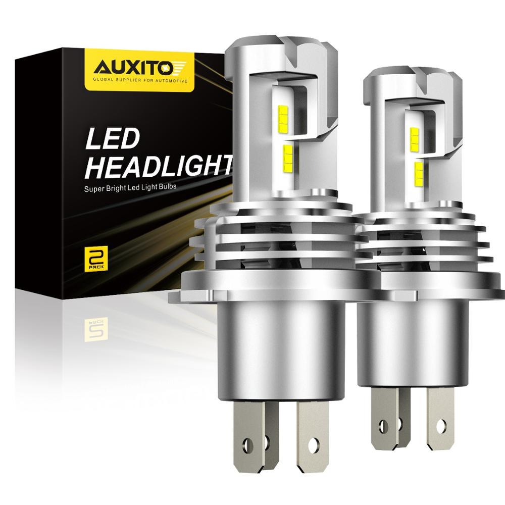 AUXITO Mini H4 Led H11 9003 H8 HB3 9005 9006 HB4 LED Car Headlight Bulb For Toyota Yaris 2007 FJ Cruiser MR2 Spyder Sienna T100