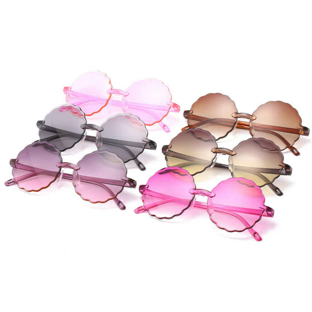 Children kids Boys Girls Ultra-light Sunglasses Shades Holiday UV400 Protection