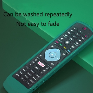 Image 3 - Dustproof Soft Silicone Case Remote Control Protective Cover for Philips SMART TV NETFLIX TV Remote Control